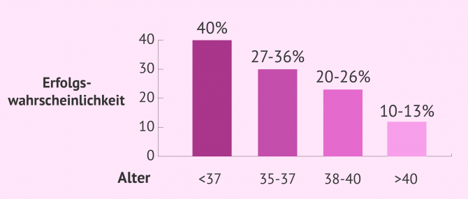 Imagen: Erfolgswahrscheinlichkeit in der IVF