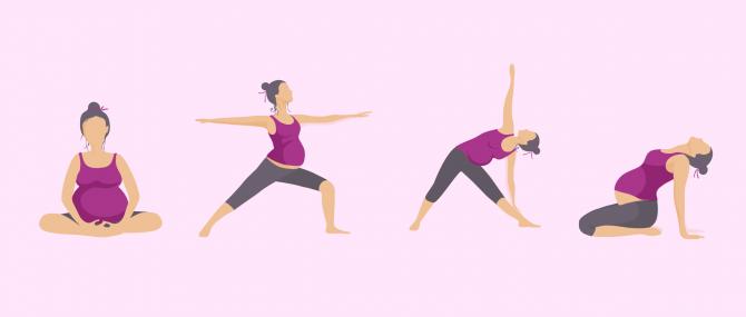 Imagen: Bewegungen um Becken zu trainieren