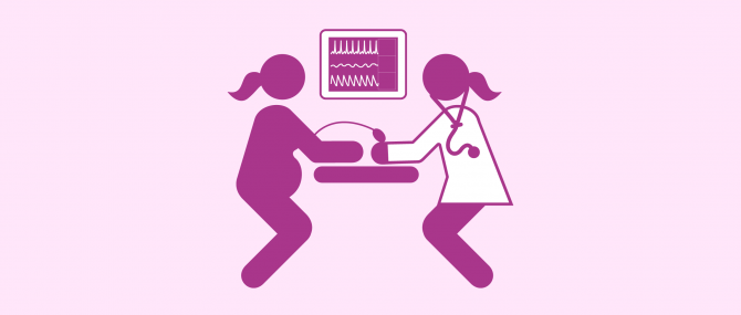 Imagen: Blutdruck messen um Präeklampsie zu vermeiden