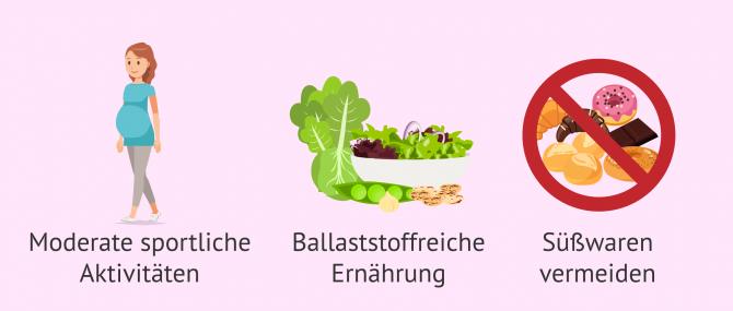 Imagen: Ernährung bei Schwangerschaftsdiabetes