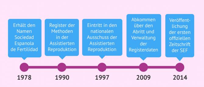 Imagen: Timeline Geschichte der SEF