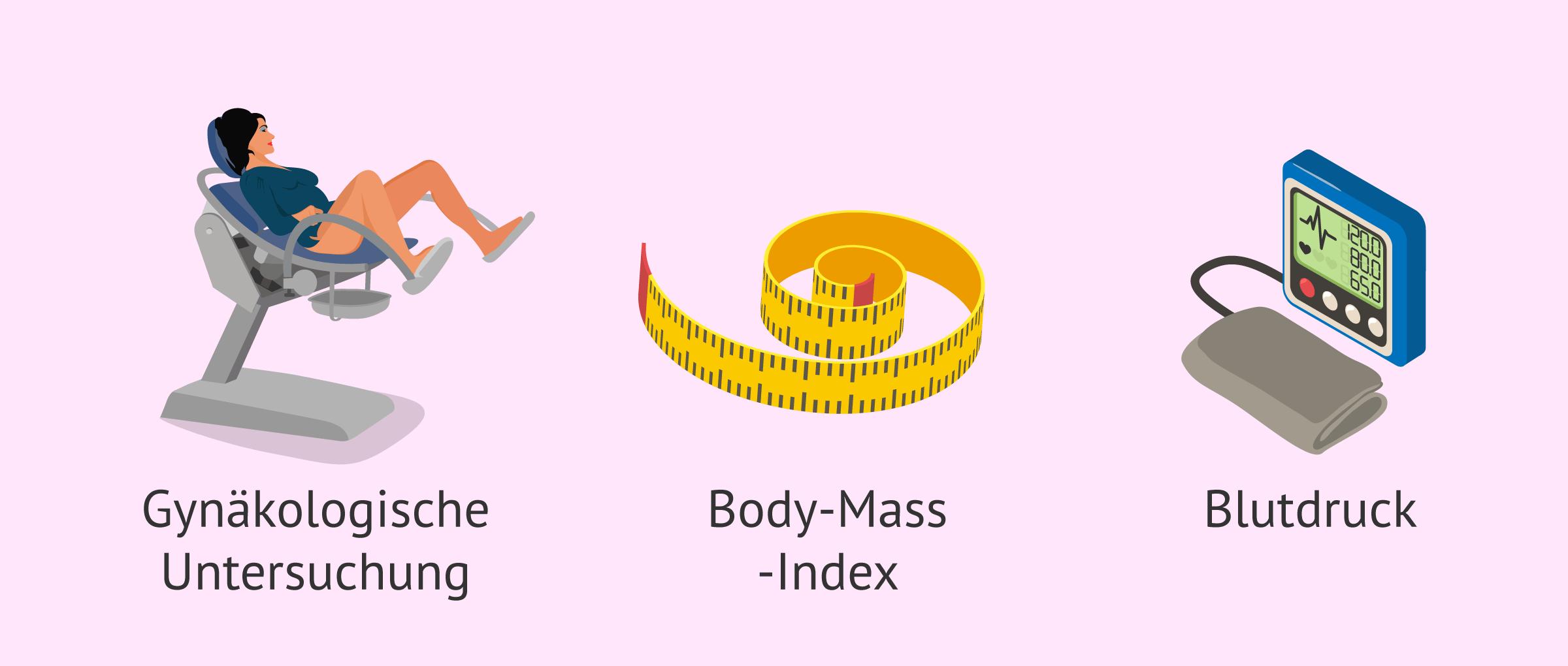 Ärztliche Kontrolle der Schwangerschaft