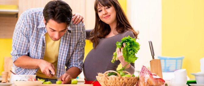 Imagen: Gesunde Lebensweise in der Schwangerschaft