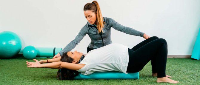 Imagen: Übungen zur Geburtsvorbereitung