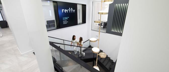 Imagen: Einrichtungen der Kinderwunschklinik Fertty in Barcelona