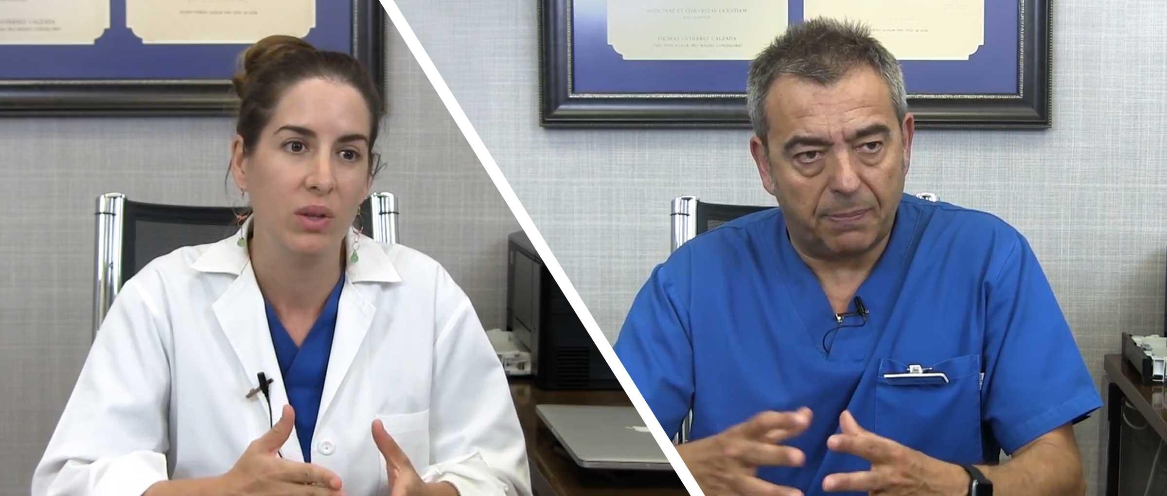 Im Gespräch mit Dr. Gorka Barrenetxea und Edurne Martínez
