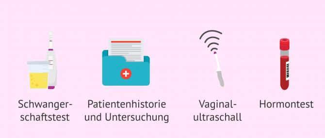 Imagen: Diagnostische Untersuchungen bei Amenorrhö