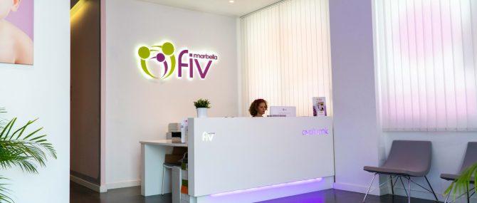 Imagen: Eingangsbereich von Ovoclinic Malaga
