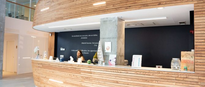 Imagen: Empfangsbereich Reproducción Bilbao