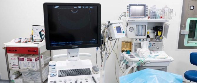 Imagen: Ultraschallgerät im OP-Raum