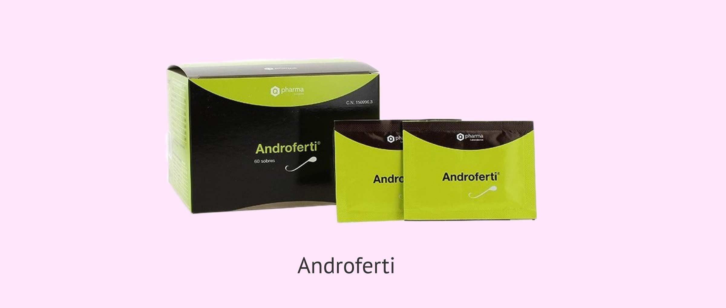 Androferti, ein antioxidatives Nahrungsergänzungsmittel für Männer