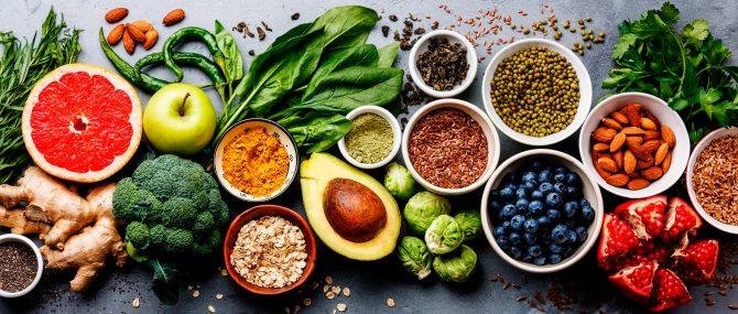 Imagen: Lebensmittel, die reich an Antioxidantien sind